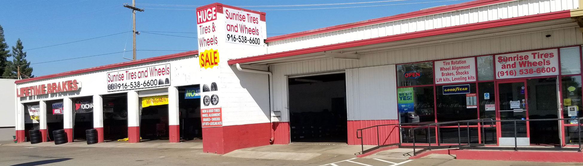Tire Places Open Today >> Tires Wheels Lift Kits In Gold River Ca Sunrise Tires